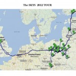 The Skys 2012 TOUR