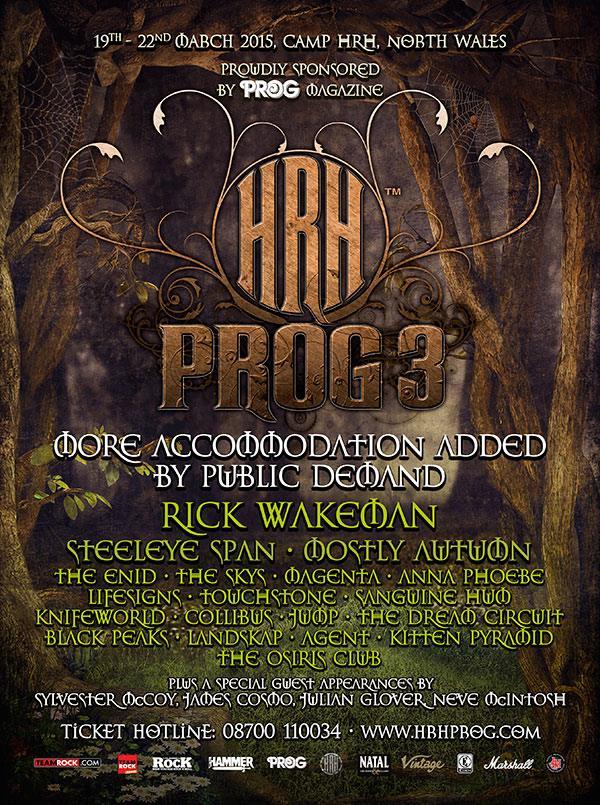HRH prog festival