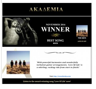 Best rock song - Love Of Life